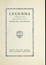 Page 9, 1921 Edition, Arthur Hill High School - Legenda Yearbook (Saginaw, MI) online yearbook collection