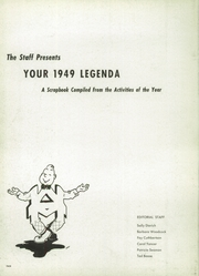 Page 6, 1949 Edition, Arthur Hill High School - Legenda Yearbook (Saginaw, MI) online yearbook collection