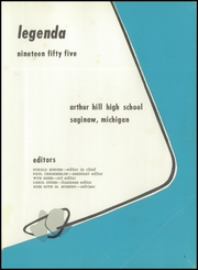 Page 5, 1955 Edition, Arthur Hill High School - Legenda Yearbook (Saginaw, MI) online yearbook collection