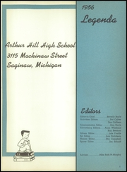 Page 5, 1956 Edition, Arthur Hill High School - Legenda Yearbook (Saginaw, MI) online yearbook collection