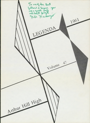 Page 5, 1961 Edition, Arthur Hill High School - Legenda Yearbook (Saginaw, MI) online yearbook collection