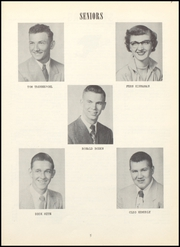 Page 9, 1953 Edition, Eden High School - Zephyr Yearbook (Greenfield, IN) online yearbook collection