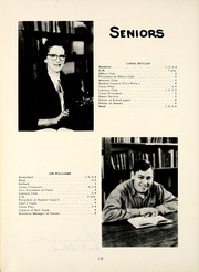 Page 16, 1955 Edition, Carrollton High School - Cardinal Yearbook (Carrollton, IN) online yearbook collection