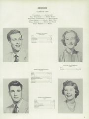 Page 11, 1954 Edition, Jefferson Township High School - Jeffersonian Yearbook (Mexico, IN) online yearbook collection