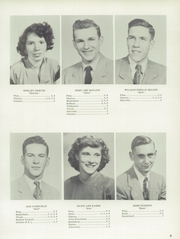 Page 13, 1954 Edition, Jefferson Township High School - Jeffersonian Yearbook (Mexico, IN) online yearbook collection