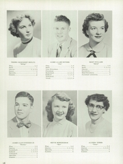Page 14, 1954 Edition, Jefferson Township High School - Jeffersonian Yearbook (Mexico, IN) online yearbook collection