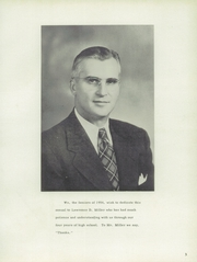 Page 7, 1954 Edition, Jefferson Township High School - Jeffersonian Yearbook (Mexico, IN) online yearbook collection
