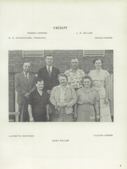 Page 9, 1954 Edition, Jefferson Township High School - Jeffersonian Yearbook (Mexico, IN) online yearbook collection