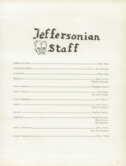 Page 5, 1957 Edition, Jefferson Township High School - Jeffersonian Yearbook (Mexico, IN) online yearbook collection