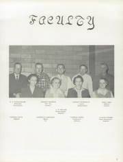 Page 9, 1957 Edition, Jefferson Township High School - Jeffersonian Yearbook (Mexico, IN) online yearbook collection
