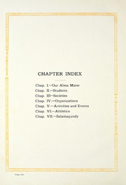 Page 10, 1921 Edition, Manchester College - Aurora Yearbook (North Manchester, IN) online yearbook collection