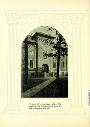 Page 16, 1929 Edition, Manchester College - Aurora Yearbook (North Manchester, IN) online yearbook collection
