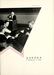 Page 11, 1934 Edition, Manchester College - Aurora Yearbook (North Manchester, IN) online yearbook collection
