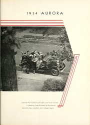 Page 9, 1934 Edition, Manchester College - Aurora Yearbook (North Manchester, IN) online yearbook collection