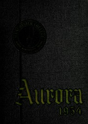 Manchester College - Aurora Yearbook (North Manchester, IN) online yearbook collection, 1954 Edition, Page 1