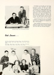 Page 72, 1955 Edition, Manchester College - Aurora Yearbook (North Manchester, IN) online yearbook collection