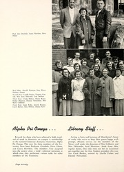 Page 74, 1955 Edition, Manchester College - Aurora Yearbook (North Manchester, IN) online yearbook collection