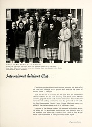 Page 75, 1955 Edition, Manchester College - Aurora Yearbook (North Manchester, IN) online yearbook collection