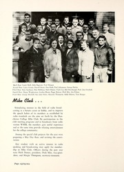 Page 86, 1955 Edition, Manchester College - Aurora Yearbook (North Manchester, IN) online yearbook collection