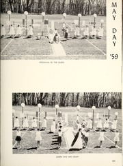 Page 155, 1960 Edition, Manchester College - Aurora Yearbook (North Manchester, IN) online yearbook collection