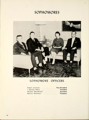 Page 60, 1960 Edition, Manchester College - Aurora Yearbook (North Manchester, IN) online yearbook collection