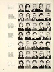 Page 66, 1960 Edition, Manchester College - Aurora Yearbook (North Manchester, IN) online yearbook collection