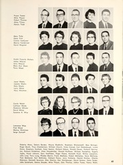 Page 67, 1960 Edition, Manchester College - Aurora Yearbook (North Manchester, IN) online yearbook collection