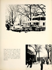 Page 11, 1963 Edition, Manchester College - Aurora Yearbook (North Manchester, IN) online yearbook collection