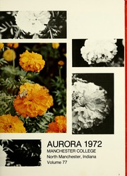 Page 9, 1972 Edition, Manchester College - Aurora Yearbook (North Manchester, IN) online yearbook collection