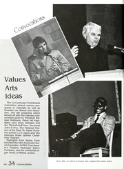 Page 38, 1988 Edition, Manchester College - Aurora Yearbook (North Manchester, IN) online yearbook collection