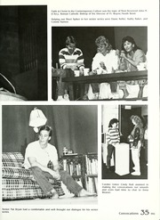 Page 39, 1988 Edition, Manchester College - Aurora Yearbook (North Manchester, IN) online yearbook collection