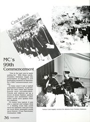 Page 40, 1988 Edition, Manchester College - Aurora Yearbook (North Manchester, IN) online yearbook collection