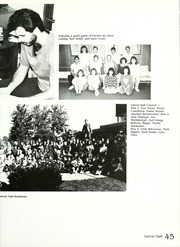 Page 49, 1988 Edition, Manchester College - Aurora Yearbook (North Manchester, IN) online yearbook collection