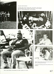 Page 51, 1988 Edition, Manchester College - Aurora Yearbook (North Manchester, IN) online yearbook collection