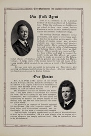 Page 13, 1923 Edition, Marion University - Marionette Yearbook (Marion, IN) online yearbook collection