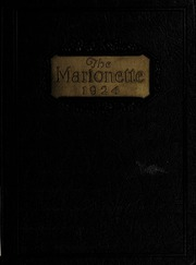 Page 1, 1924 Edition, Marion University - Marionette Yearbook (Marion, IN) online yearbook collection
