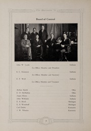 Page 10, 1924 Edition, Marion University - Marionette Yearbook (Marion, IN) online yearbook collection