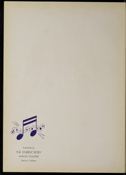 Page 6, 1939 Edition, Marion University - Marionette Yearbook (Marion, IN) online yearbook collection