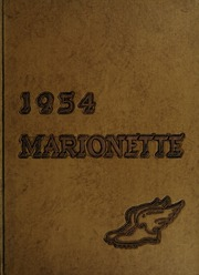 Page 1, 1954 Edition, Marion University - Marionette Yearbook (Marion, IN) online yearbook collection