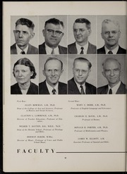 Page 16, 1954 Edition, Marion University - Marionette Yearbook (Marion, IN) online yearbook collection