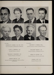 Page 17, 1954 Edition, Marion University - Marionette Yearbook (Marion, IN) online yearbook collection