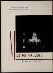 Page 6, 1954 Edition, Marion University - Marionette Yearbook (Marion, IN) online yearbook collection