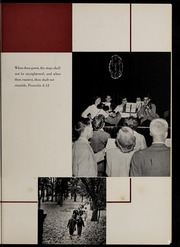 Page 7, 1954 Edition, Marion University - Marionette Yearbook (Marion, IN) online yearbook collection