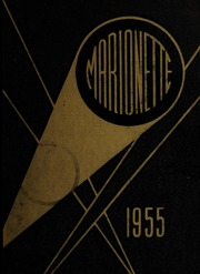 Page 1, 1955 Edition, Marion University - Marionette Yearbook (Marion, IN) online yearbook collection