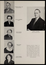 Page 15, 1955 Edition, Marion University - Marionette Yearbook (Marion, IN) online yearbook collection
