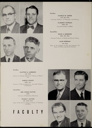 Page 16, 1955 Edition, Marion University - Marionette Yearbook (Marion, IN) online yearbook collection