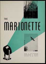 Page 5, 1955 Edition, Marion University - Marionette Yearbook (Marion, IN) online yearbook collection