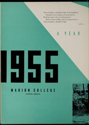 Page 6, 1955 Edition, Marion University - Marionette Yearbook (Marion, IN) online yearbook collection