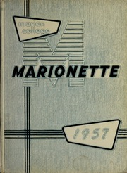 Page 1, 1957 Edition, Marion University - Marionette Yearbook (Marion, IN) online yearbook collection