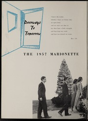 Page 6, 1957 Edition, Marion University - Marionette Yearbook (Marion, IN) online yearbook collection